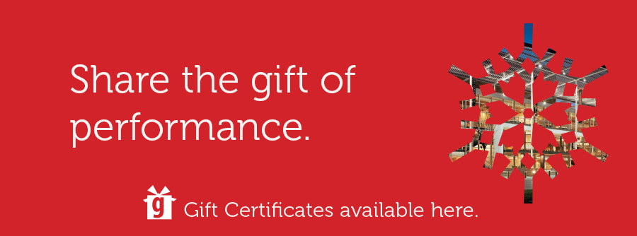 Mondavi Center Gift Certificates
